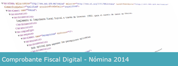 comprobante fiscal digital nomina